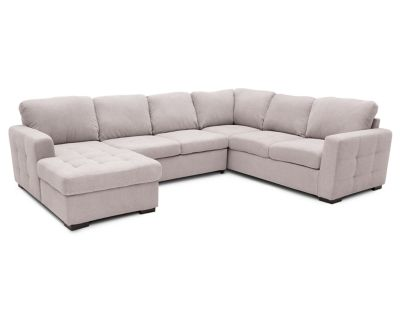 Caruso 3 Pc Fabric Sleeper Sectional Furniture Row