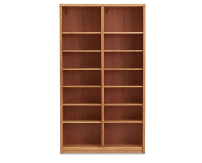 Double Axis Bookcase Furniture Row