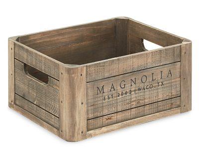 Magnolia Home Wood Crate Furniture Row