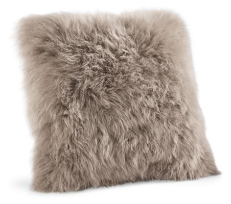 Sheepskin Modern Throw Pillows