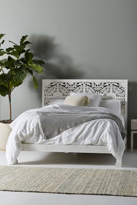 How To Make Headboards For King Size Beds Bohemian Bed Frames & Unique Headboards | Anthropologie