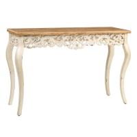 Ivory Baroque Console Table | Kirklands