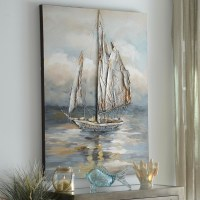 Moonlight Voyage Canvas Art