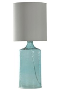 Aqua Seeded Glass Table Lamp | Kirklands