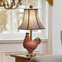 MacKenzie-Childs | Rooster Table Lamp