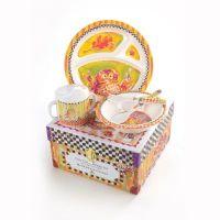 MacKenzie-Childs | Toddler's Dinnerware Set - Owl