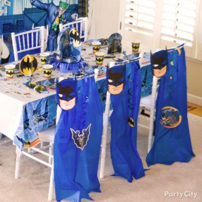 Batman Birthday Party Ideas Party City