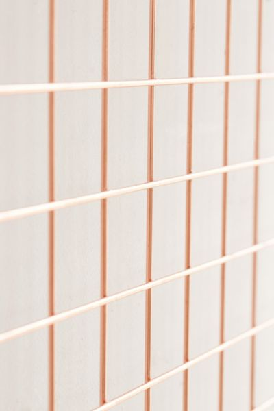 Wall Grid Wire Wall Rectangle Grid