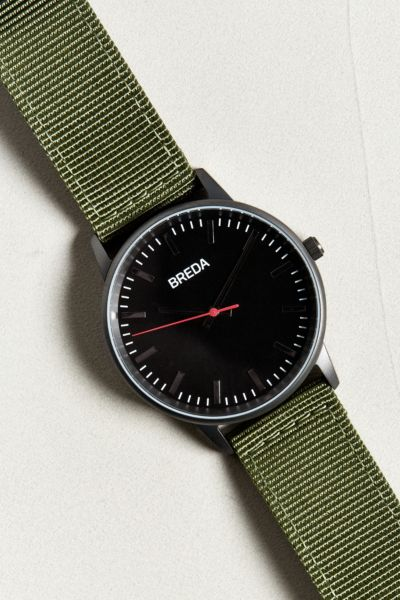 Game Winkel Breda Breda Valor Canvas Strap Watch
