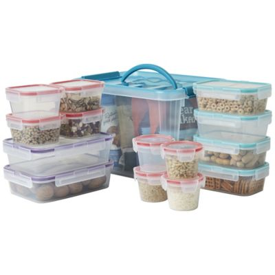 Fingerhut Snapware Airtight 30 Pc Plastic Food Storage Container Set With Free 6 Pc Plastic Food Storage Container Set