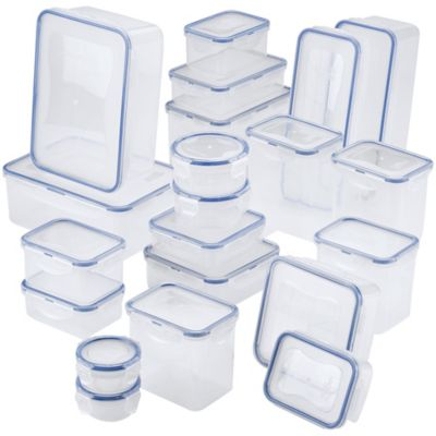 Fingerhut Lock Lock Easy Essentials 42 Pc Food Storage Container Set