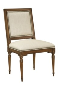 Louis XVI Square Back Side Chair from the Atelier ...
