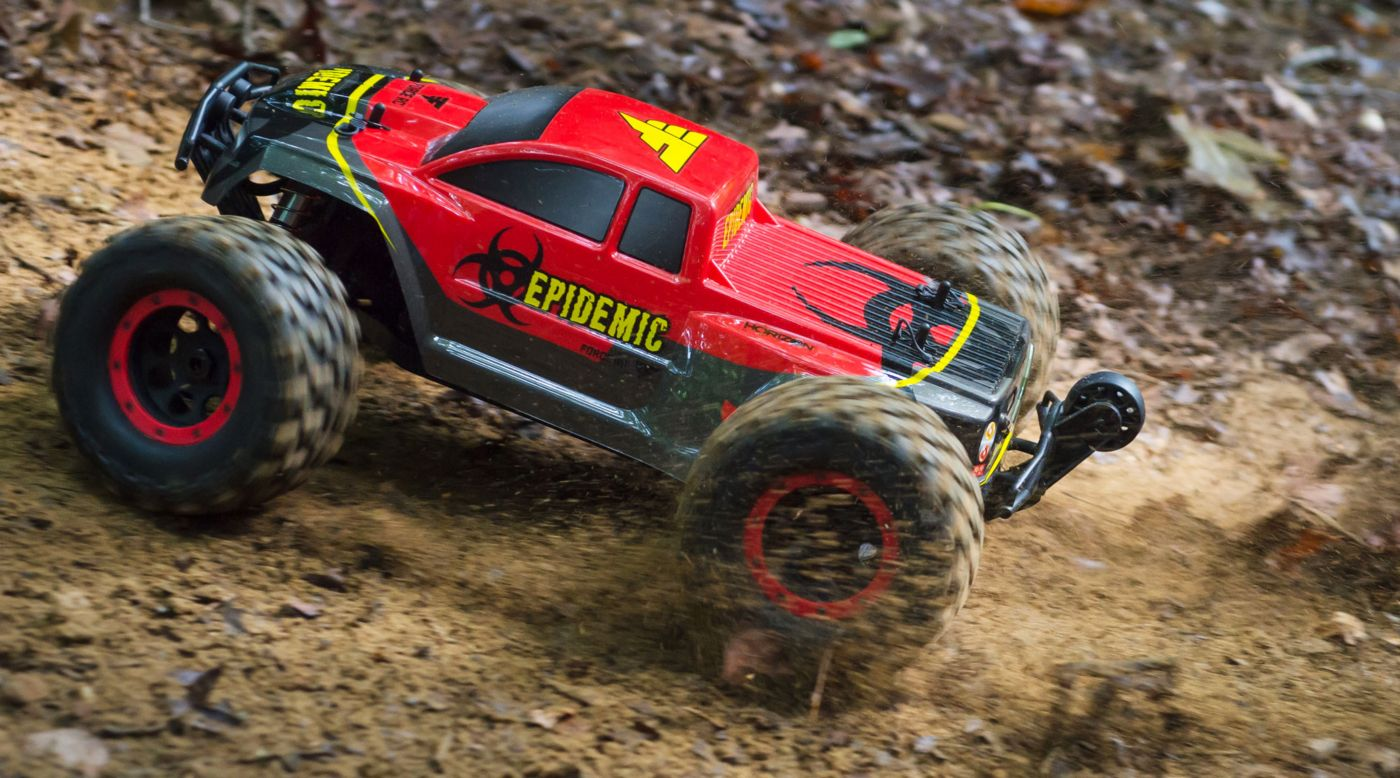 Rtr Rc Trucks Electric 1 8 Epidemic 4wd Monster Truck Brushless Rtr Fces04000