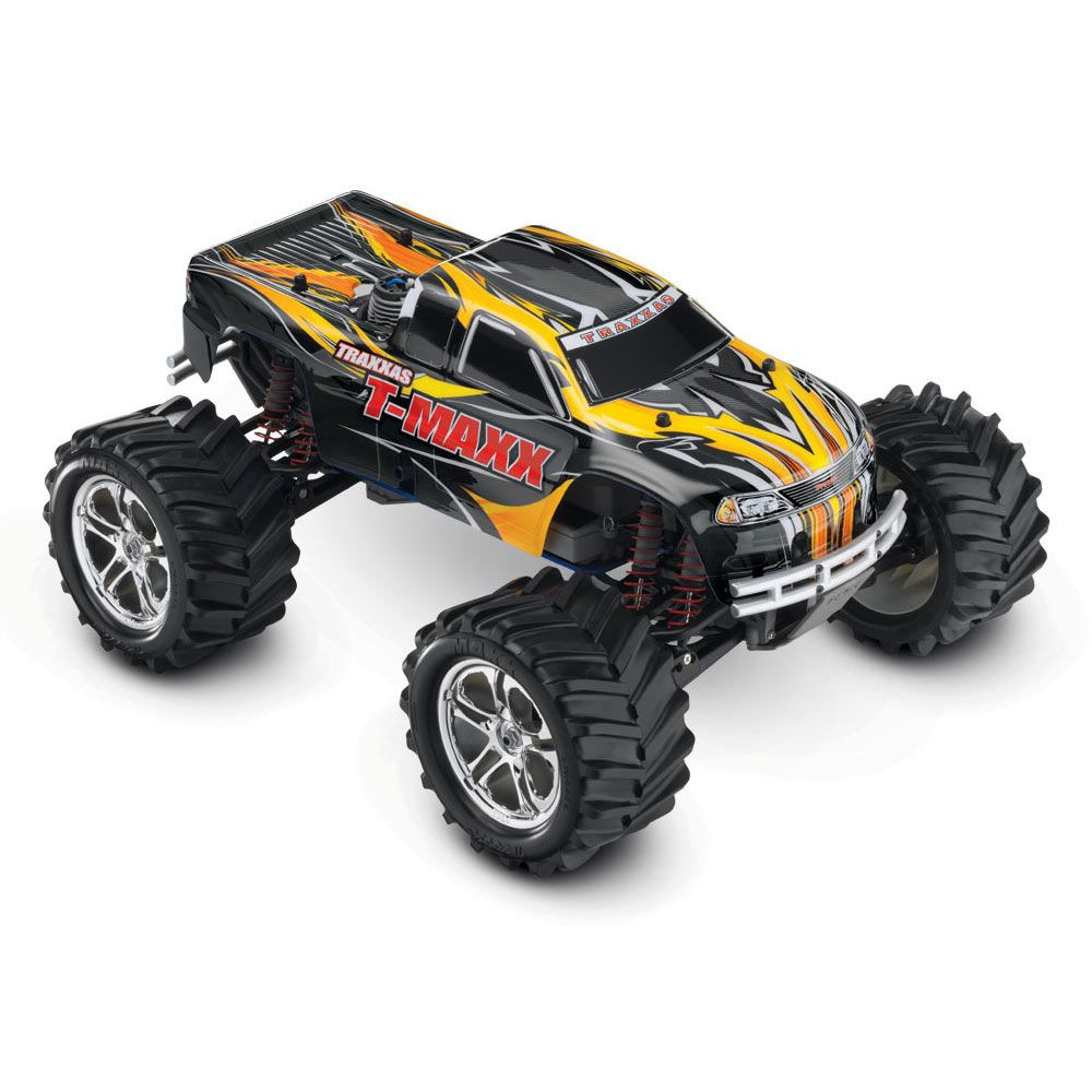 Rtr Rc Trucks Electric Traxxas 1 10 T Maxx 4wd Remote Control Ez Start Ready To Run Nitro