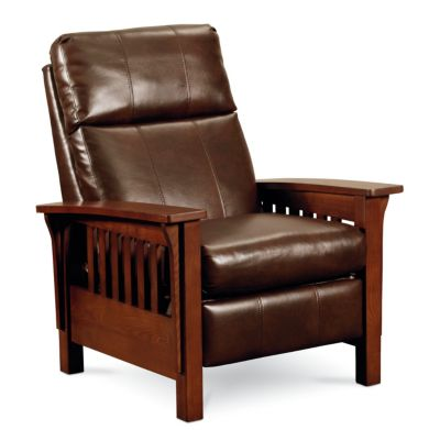 Mission high leg recliner