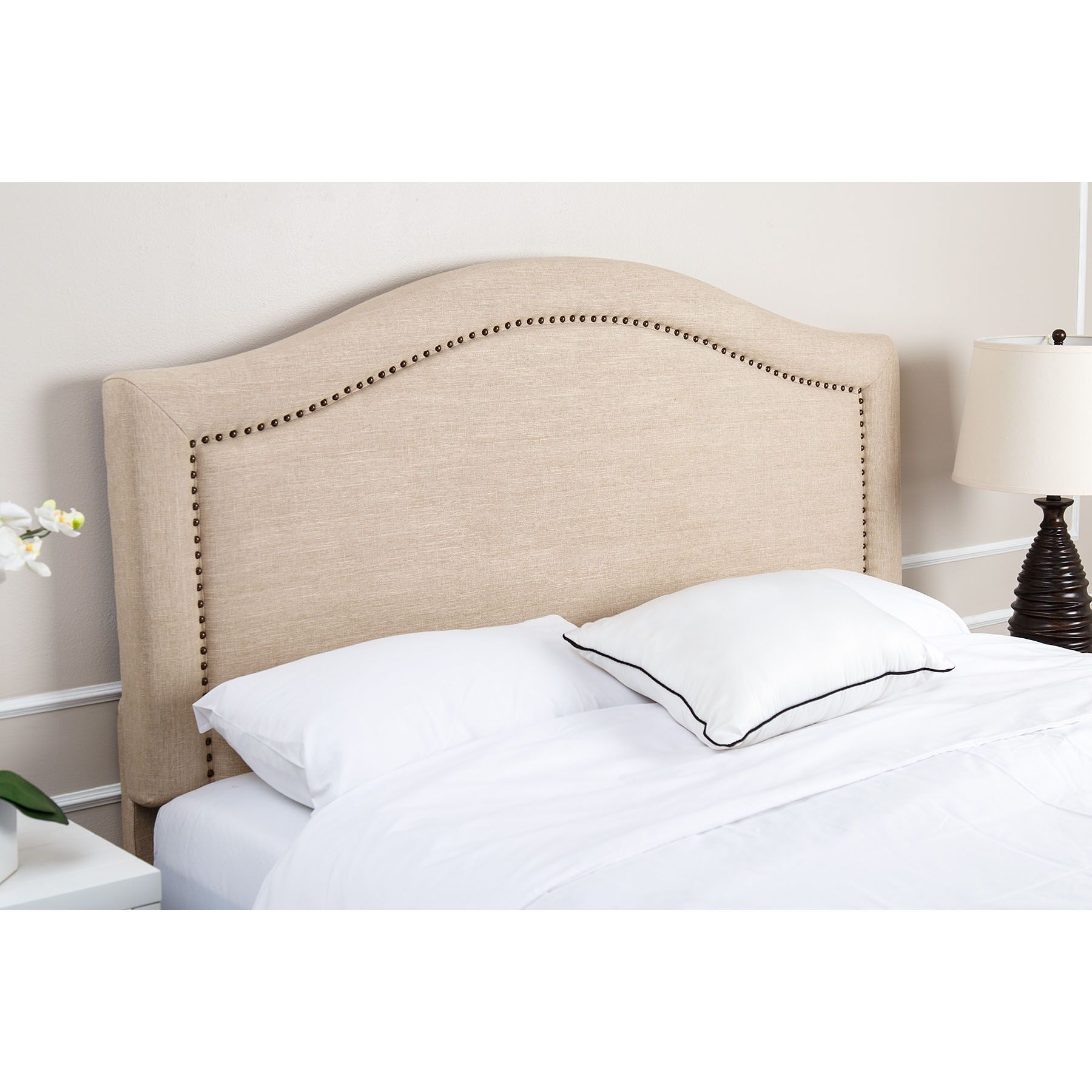 Customer Favorite Abbyson Living Ramsay King California King Size Headboard Wheat Accuweather Shop