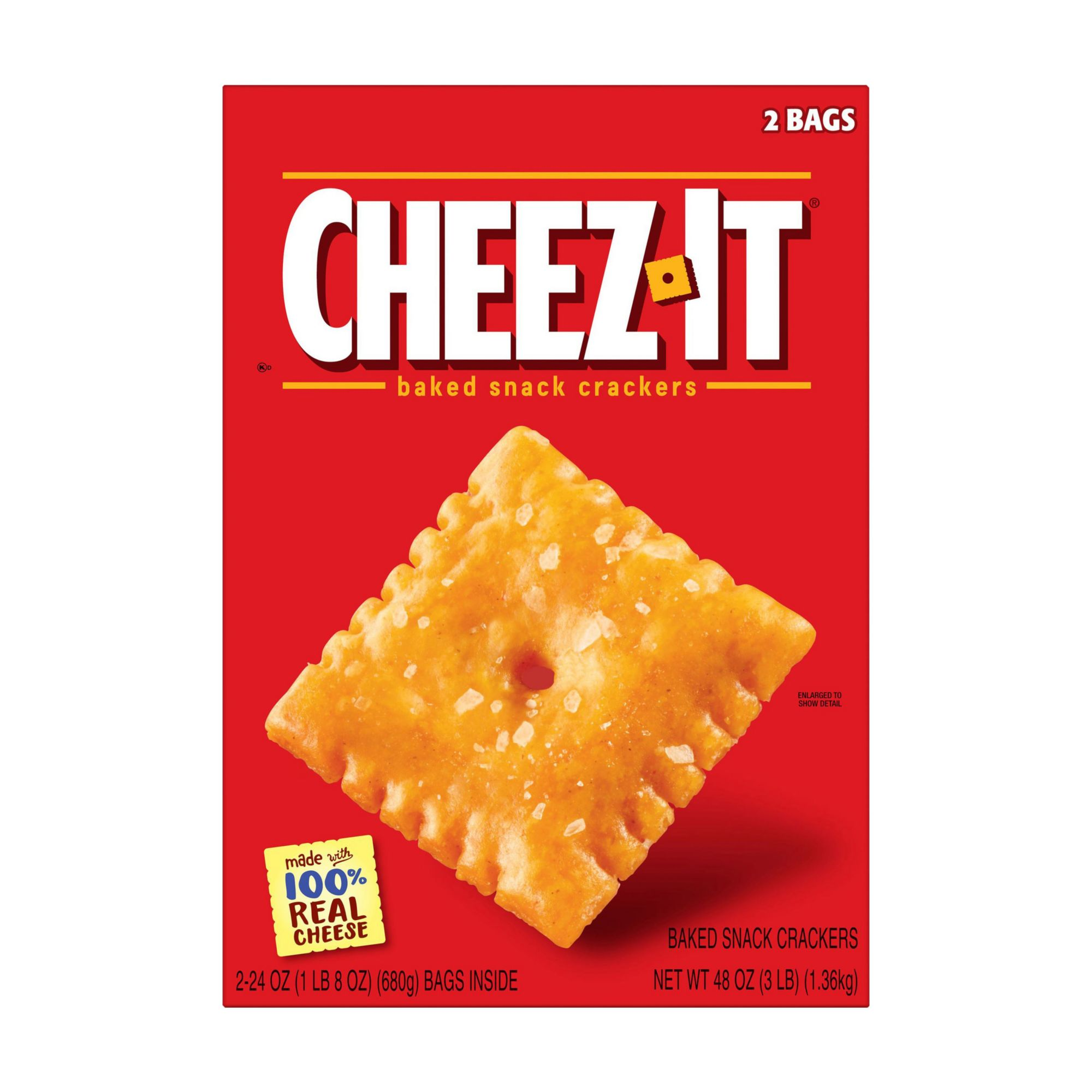 Wholesale Mattress Company Cheez It Baked Crackers 2 Pk Bjs Wholesale Club