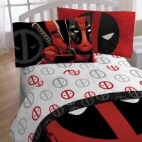 Marvel Deadpool Sheet Set - Bed Bath & Beyond