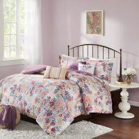 Buy Madison Park Bess 7-Piece Queen Comforter Set in ...