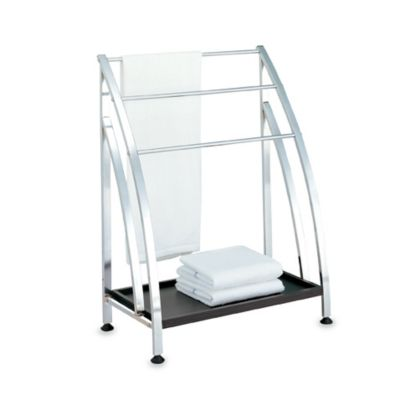 Neu Home Nautical Free Standing Towel Rack Bed Bath Beyond