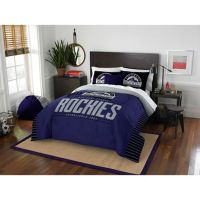 MLB Colorado Rockies Grand Slam Comforter Set - Bed Bath ...