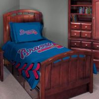 Major League Baseball Twin/Full Comforter Set - Atlanta ...