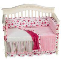 Kathy Ireland Home Blossoms 4-Piece Infant Bedding Set ...