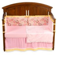 Buy Kathy Ireland Home Sweetie Pink Crystals 4-Piece Crib ...