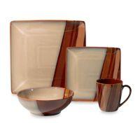 Sango Avanti Brown Dinnerware Collection - Bed Bath & Beyond