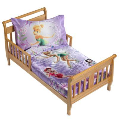 Disney Fairies Garden Treasures 4 Piece Toddler Bedding