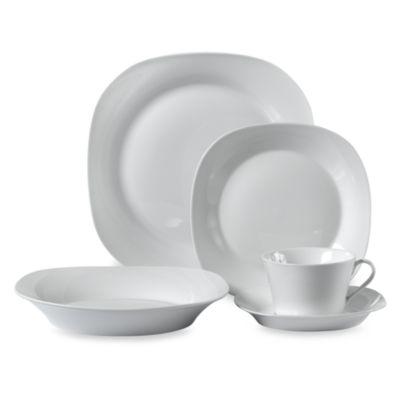 Buy Everyday White Porcelain Dinnerware from Bed Bath & Beyond