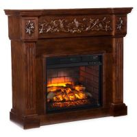 Southern Enterprises Calvert Carved Infrared Electric ...