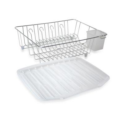 Chrome Large Dish Drainer Bed Bath Beyond