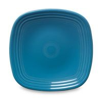 Fiesta Square Luncheon Plate in Peacock - Bed Bath & Beyond