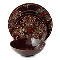 Grand Medallion 12-Piece Dinnerware Set - Bed Bath & Beyond