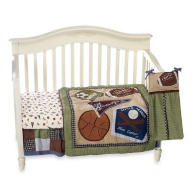 Cocalo Babyr Sports Fan 8 Piece Crib Bedding Bed Bath