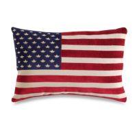American Flag 20-Inch Decorative Throw Pillow - Bed Bath ...