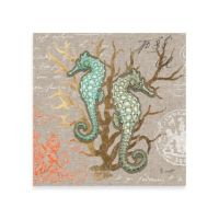 Buy Dual Seahorse Canvas Wall Art from Bed Bath & Beyond