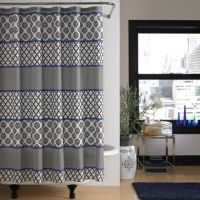 Buy Black and White Shower Curtains from Bed Bath & Beyond