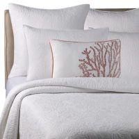 Solid Seashell White Pillow Shams - Bed Bath & Beyond