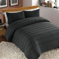 Buy Jersey Channel Stitch Twin/Twin XL Comforter Set in ...
