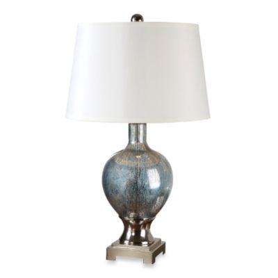 Buy Uttermost Mafalda Glass Table Lamp in Blue Mercury