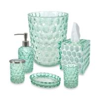 Crystal Ball Glass Bathroom Accessories in Aruba - Bed ...