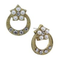 Buy Downton Abbey Jewellery Goldtone Simulated Pearl and ...