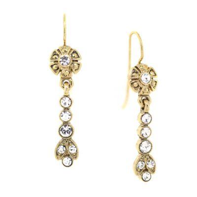 Buy Downton Abbey Jewellery Goldtone Crystal Drop