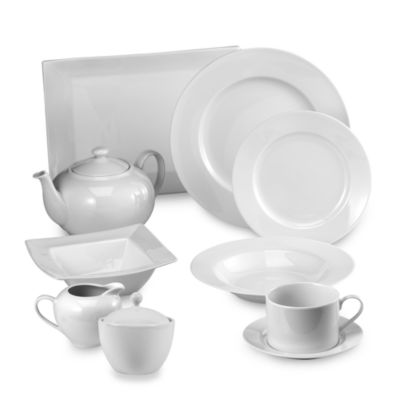Everyday White by Fitz and Floyd Rim Dinnerware