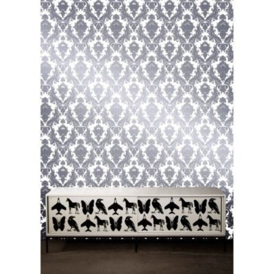 Tempaper® Removable Wallpaper in Damsel Oyster - Bed Bath & Beyond