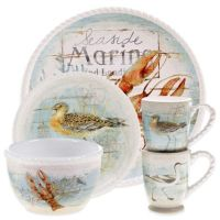 Certified International Beach Cottage Dinnerware and ...