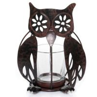 Yankee Candle Rustic Cabin Woods Owl Votive Candle Holder ...