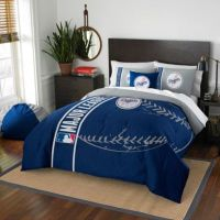 MLB Los Angeles Dodgers Embroidered Comforter Set - Bed ...